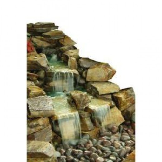 How to Build a Pond Waterfall