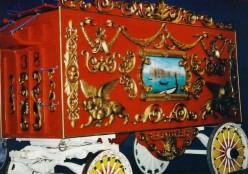 Another elaborate circus carriage.