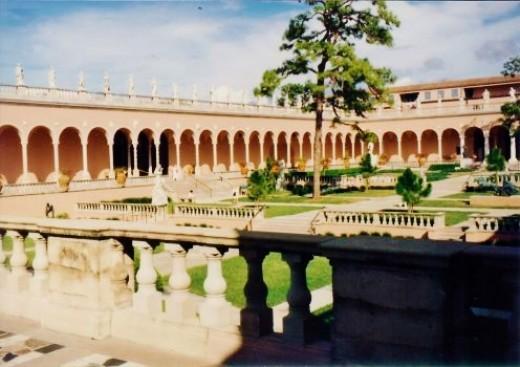 Courtyard - Ringling Museum