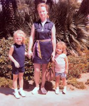 My Mom with My Sister and I  Family Vacation 1971