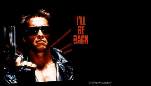 Arnold, I'll Be Back