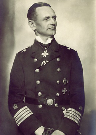 Commander of the SMS Wolf, Karl August Nerge