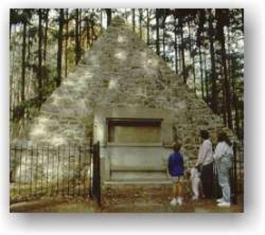 Buchanan Birthplace Memorial, Stony Batter State Park, Pennsylvania