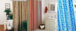 Pep Up Your Bathrooms with Trendy Shower Curtains and High Quality Curtain Rails