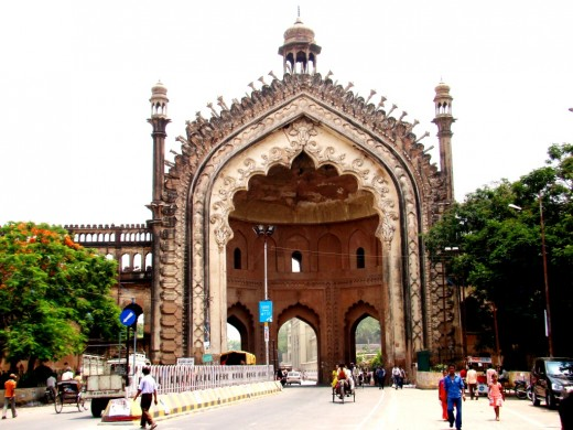 Rumi Darwaza from the front 3
