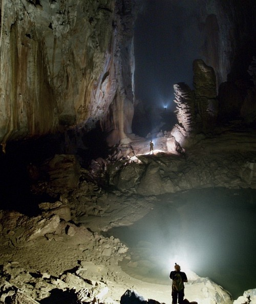 Mulu Caves of the Mulu National Park. It is breathtaking for cave lovers and the rainforests surrounding it is something for nature lovers.
