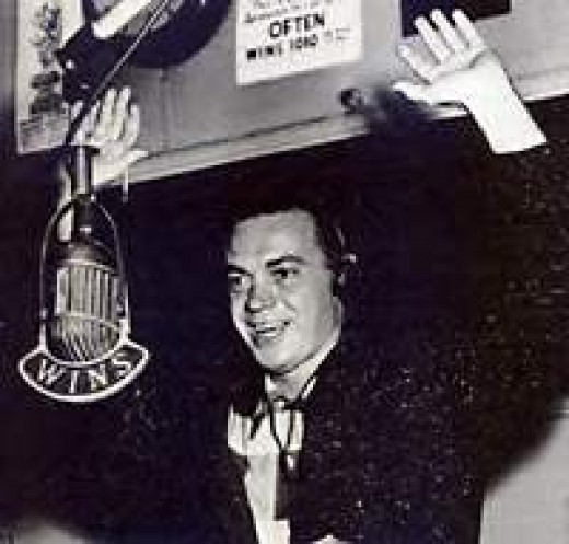 Alan Freed at the mike