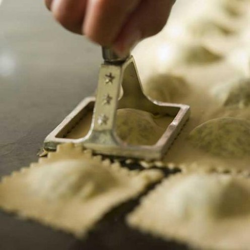Ravioli recipes from James Peterson.