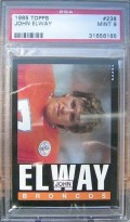 The Hardest John Elway Football Cards to Collect: 1984-1992