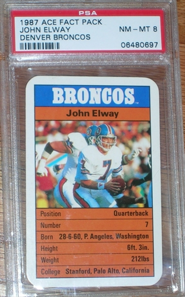 1987 Ace Fact Pack Elway