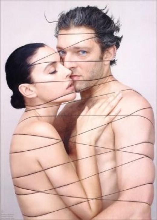 Vincent Cassel and Monica Belluci