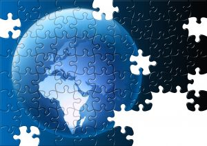 Put together the puzzle of employment in a global economy.