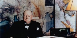 Churchill in the Cabinet War Rooms