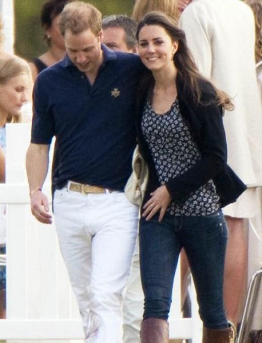Kate Middleton With Willium