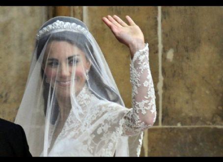 Bride Kate Middleton