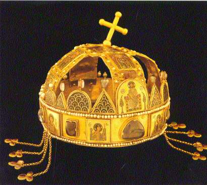 Image of the crown of St Stephen