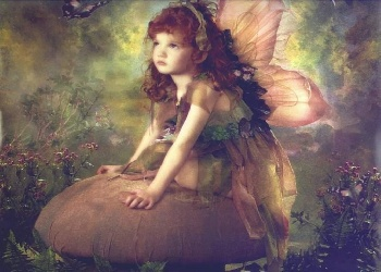 A youthful pixie.