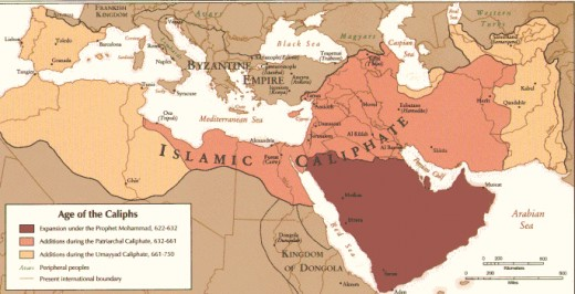 Early Islamic expansion