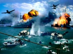 Japanese attack on Pearl Harbor, December 1941