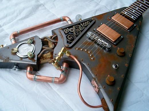 Steampunk Guitar!