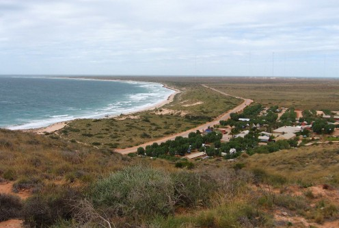 Looking north toward the tip of the Exmouth Peninsula