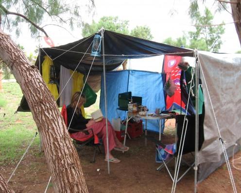 The Tarp House - shelter without luxury