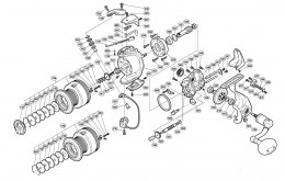 Shimano Stradic Exploded View