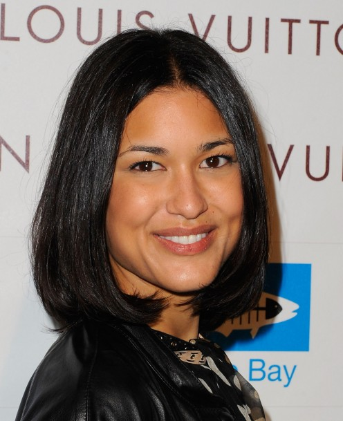 Julia Jones is part Choctaw, part Chickasaw and 100% gorgeous Native American.