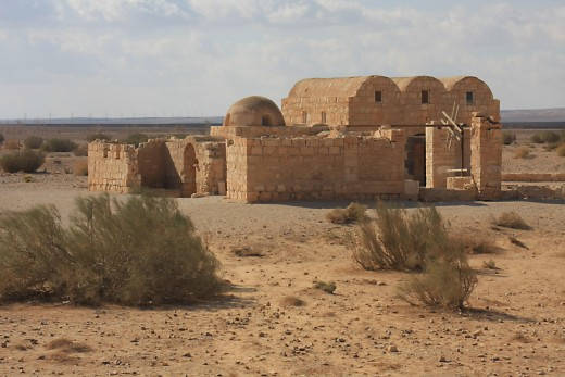 The Bath house of Qasr Amra