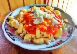 Quick & Healthy Recipe | Pasta with a Mouthwatering Feta Cheese & Tomato Sauce