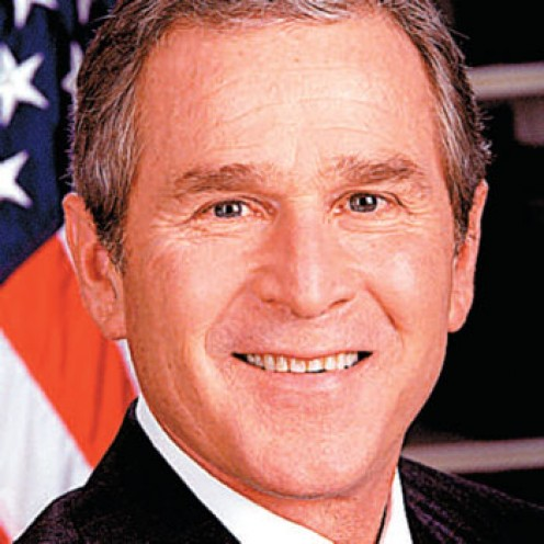 George W. Bush - 43nd President of the United States of America