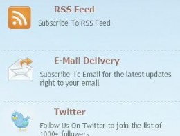 How To Add Subscribe Widget On Blogger Sidebar