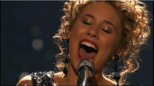 american idol 2011 haley. American Idol 2011 Top 4