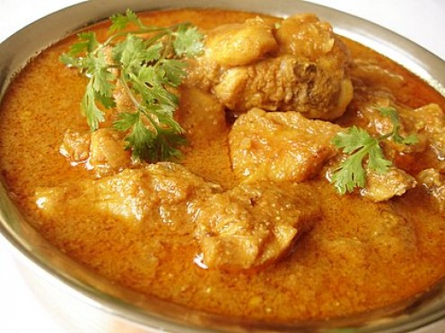 This is Indian Curry with Chicken.
