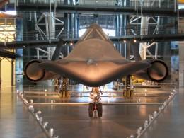 SR-71 Blackbird1 - The First stealth Aircraft?
