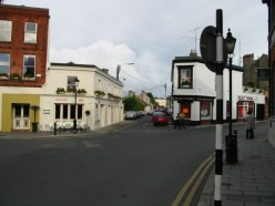A quiet Dublin street