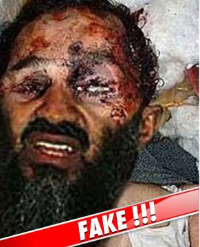 This is the fake photo of Bin Laden circulating the internet