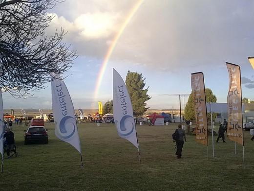 Rainbow over Reitz