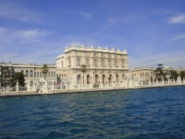 Dolmabache Palace on the Bosphorus