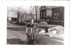 Dad and his Nash automobile