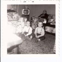 Rich, me, and Grandma Z.