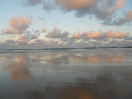 Fraser Island at dusk