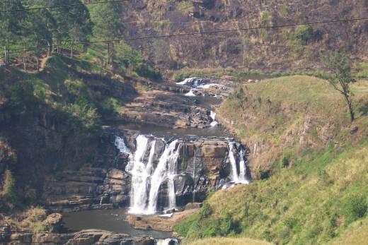 Saint Clare's Falls, Sri Lanka