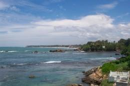 Galle coast, Sri Lanka