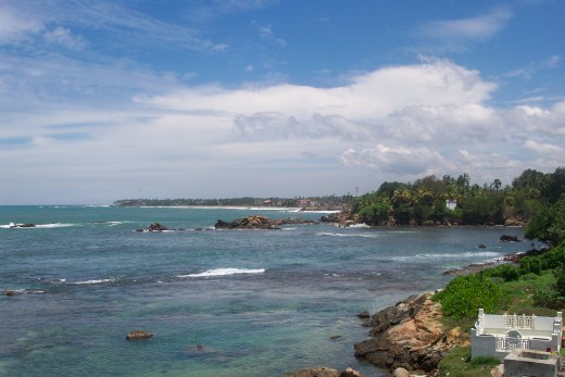 Galle coast, Sri Lanka