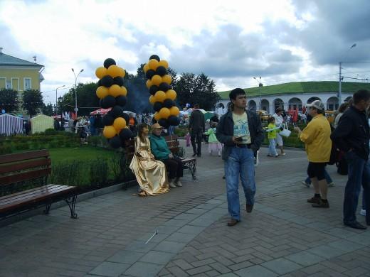 City`s Day in Kostroma