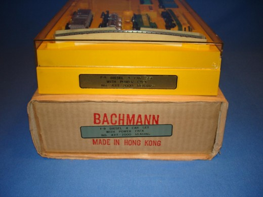 1960 N Scale Train Set from Bachmann Bros.