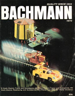1970 Bachmann Train Catalog