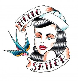 Rockabilly Tattoo Designs on Ten Rockin  Rockabilly Retro Tattoos Tattoo Ideas  Nautical  Sailor