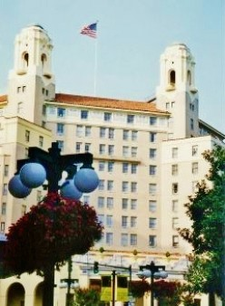 The Arlington Hotel in Hot Springs, Arkansas